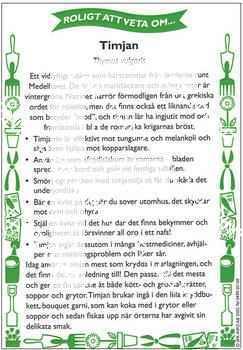 Kryddor & Läkeväxter